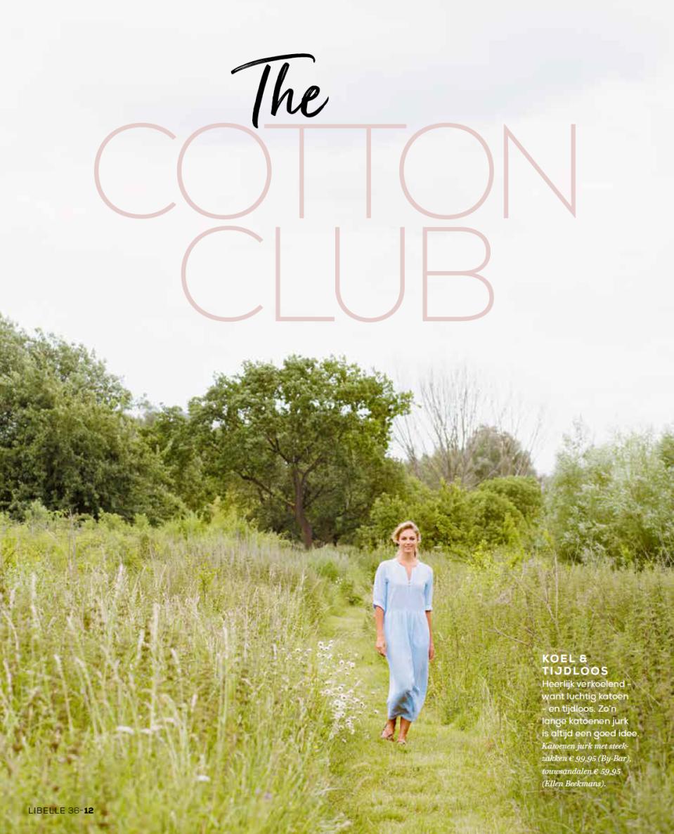 Marijke Versluijs Libelle Cotton Club